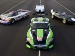RSR Jaguar XKR GT2 Le Mans endurance race car