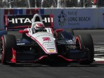 Ryan Briscoe in qualifying at Long Beach - Anne Proffit photo
