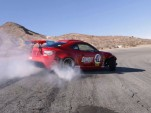 Ryan Tuerck drifts the Toyota GT4586 at Willow Springs