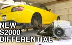 How to install a rear differential in a Honda S2000