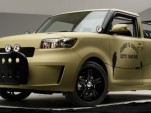 Sage Vaughn designed Scion xB L-Con City Safari pickup