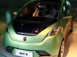 SAIC Roewe E1 electric minicar concept, Shanghai, April 2010