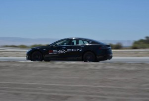 Saleen FourSixteen based on the Tesla Model S