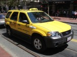 San Francisco Ford Hybrid Escape Taxi by Flickr user Ian Fuller