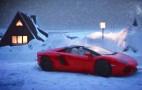 Lamborghini Aventador Roadster Buys Santa Some Time: Video