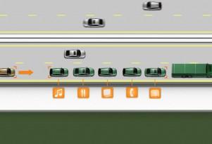 SARTRE self-driving cars