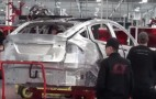 Here's What The Tesla Model X Assembly Line Looks Like