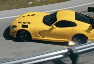 Scene from 'The Last Viper from Pennzoil'