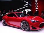 2011 New York Auto Show: Scion Debuts FR-S Concept Sports Car