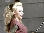 Screencap from Audi promo with Tokio Hotel