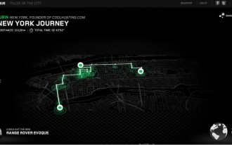 Land Rover Launches Evoque-ative 'Pulse Of The City' App