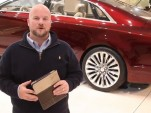 Screencap from Lincoln MKZ walkthrough video