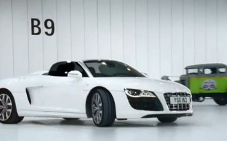 Humpday Video: 'Beauty And The Beasts' Audi R8 Spyder Ad