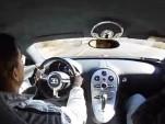 Screencap of Bugatti Veyron 225-mph run video