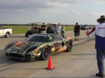 Sean Kennedy gets ready to drive The Houston Half Mile