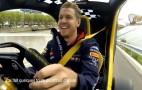 Sebastian Vettel Gets His First Taste Of Electric Cars, Drives F1-Inspired Twizy: Video