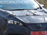Section of 2018 Nissan Leaf spy shot  [image via S. Baldauf/SB-Medien, as used on Motor Authority]
