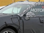Section of 2019 Cadillac XT4 spy shot  [image via S. Baldauf/SB-Medien, as used on Motor Authority]
