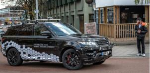 Self-driving Jaguar Land Rover prototypes testing on public roads