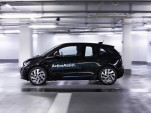Self-parking BMW i3 ActiveAssist prototype, 2015 Consumer Electronics Show