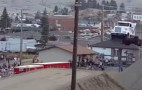 Semi Truck Jumps 166 Feet To Shatter World Record: Video
