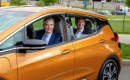 Senator Rob Portman drives Chevrolet Bolt EV