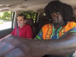 Shaq as a Lyft driver