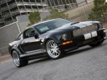 Shelby wide-body kit designed for 2005-2009 Ford Mustangs