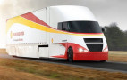 Shell Airflow Starship semi truck aims for fuel-economy record