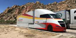 Shell Starship semi posts record fuel-economy in cross-country run