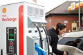 Shell charging station in Britain (higher res)