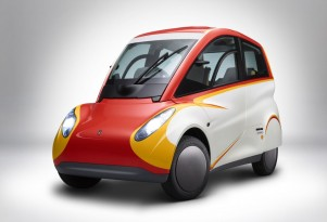 Shell unveils latest ultra-efficient city car, designed by Gordon Murray