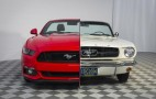 """Ford creates """"side-by-side"""" 1965/2015 Mustang display"""