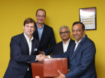 Signing of Memorandum of Understanding between Ford and Mahindra