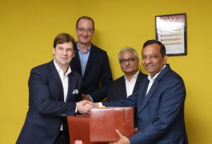 Signing of Memorandum of Understanding between Ford and Mahindra