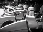 Silver Arrows line up at the Goodwood Revival