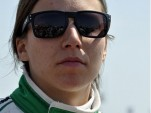 Simona de Silvestro on pit road before the Honda Grand Prix of St Petersburg Photo: Anne Proffit
