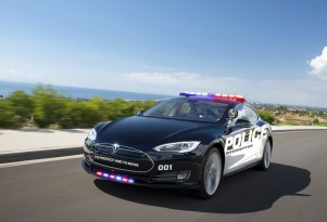 To nab speeders, Luxembourg deploys faster Teslas
