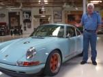 Singer Porsche 911 driven in Jay Leno's Garage