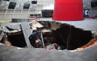 Satan Starts Car Collection With 8 Corvettes As Sinkhole Collapses Under Museum: Video Update