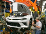 Sixth-generation Chevrolet Camaro production at Lansing Grand River Plant