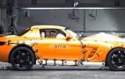 Video: Mercedes-Benz SLS AMG Crash Test