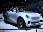 Smart For-Us pickup concept live photos, 2012 Detroit Auto Show