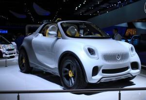 Smart For-Us Electric Pickup Concept: 2012 Detroit Auto Show