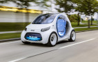 Smart is the latest automaker to unveil a self-driving pod car
