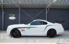 A Toyota Supra was turned into a Bentley GT3-R, for some unfathomable reason