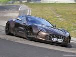 Spy Shots: Aston Martin One-77 testing at the Nurburgring