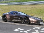 Spy Shots: Aston Martin One-77 testing at the Nurburgring