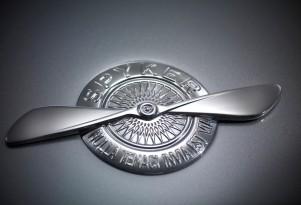 Spyker's propeller logo.