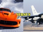 SRT Viper versus F-16 Viper fighter jet